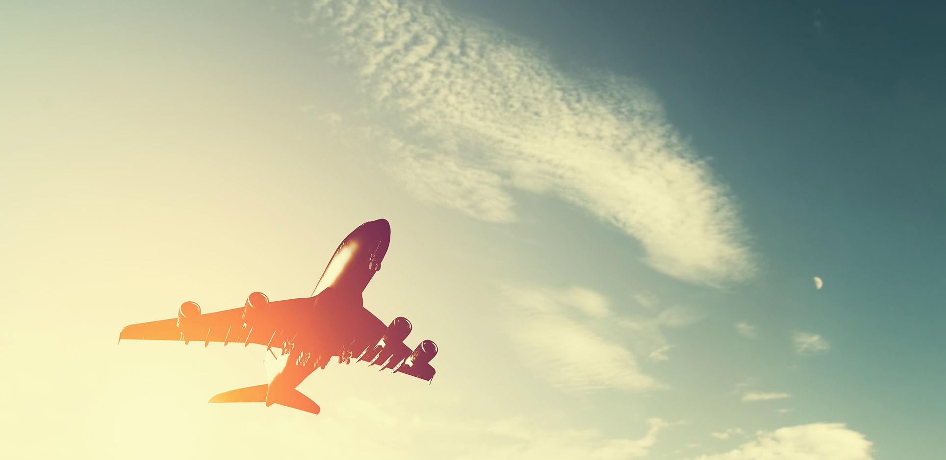 Air freight cargo plane